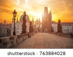 Scenic View Of Charles Bridge ...