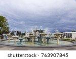 gdynia  poland   july 31  2015  ... | Shutterstock . vector #763907845