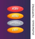 colorful oval options selection ...