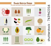 healthy food infographic vector ... | Shutterstock .eps vector #763962316