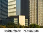 architectural complex against... | Shutterstock . vector #764009638