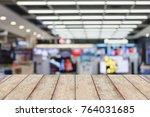 television smart tvs 4k ultra... | Shutterstock . vector #764031685
