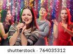 funny girls karaoke party