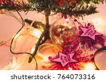 happy new year and christmas... | Shutterstock . vector #764073316