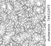 seamless pattern  background... | Shutterstock .eps vector #764112475