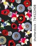 Flowers Art Pattern  - Fine Art prints
