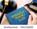 Personal Injury Law And Gavel...