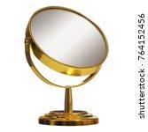 golden shiny cosmetic makeup... | Shutterstock . vector #764152456