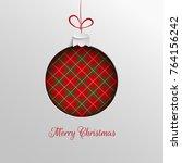 merry christmas holiday design  ...   Shutterstock .eps vector #764156242