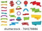 This image is a vector file representing Labels Stickers Banners Tag vector design collection. | Shutterstock vector #764178886