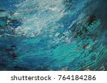 fragments of abstract paintings ... | Shutterstock . vector #764184286