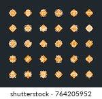 car service maintenance icon set | Shutterstock .eps vector #764205952