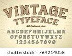 decorative vector vintage retro ...   Shutterstock .eps vector #764214058