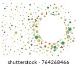 abstract background on a theme... | Shutterstock .eps vector #764268466