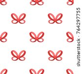 bow  ribbon  decoration  and... | Shutterstock .eps vector #764297755