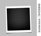 photo frame with shadow on...   Shutterstock .eps vector #764330848