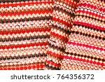 color of fabric warping.   Shutterstock . vector #764356372