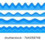 freshness natural theme  a... | Shutterstock .eps vector #764358748