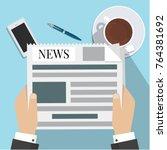 news words  coffee break  lunch