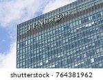 london  uk   january 30  2016 ... | Shutterstock . vector #764381962