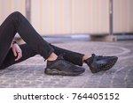 milan  italy   november 11 ... | Shutterstock . vector #764405152