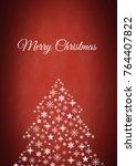 digital composite of merry... | Shutterstock . vector #764407822