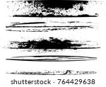 edges vector set . design... | Shutterstock .eps vector #764429638