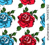 rose vector illustration....   Shutterstock .eps vector #764435782