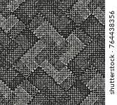 abstract monochrome mottled...   Shutterstock .eps vector #764438356