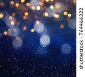 blurred bokeh light background  ... | Shutterstock . vector #764466322