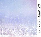 blurred bokeh light background  ... | Shutterstock . vector #764481472