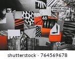 creative atmosphere art mood... | Shutterstock . vector #764569678
