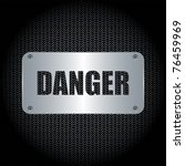 danger background | Shutterstock .eps vector #76459969