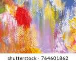 highly textured colorful... | Shutterstock . vector #764601862