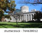 columbus ohio   november 2017 ... | Shutterstock . vector #764638012