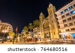 the cathedral of st. vincent de ... | Shutterstock . vector #764680516