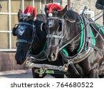 Christmas Work Horses Drawn...
