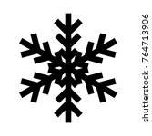 snowflake icon. christmas and...   Shutterstock .eps vector #764713906