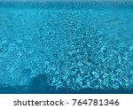 pool water.water texture. | Shutterstock . vector #764781346
