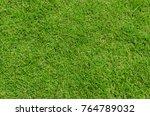 green grass background texture. | Shutterstock . vector #764789032