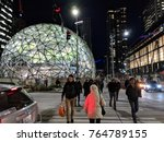 seattle  washington usa  ... | Shutterstock . vector #764789155