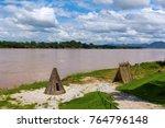 Camp On The Along Mekong River...