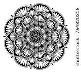 mandalas for coloring book....   Shutterstock .eps vector #764820358