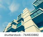 architecture  building 3d... | Shutterstock . vector #764833882