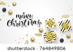 merry christmas holiday... | Shutterstock .eps vector #764849806