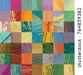 colorful patchwork made up of...