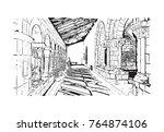 sketch illustration of the
