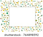 abstract background on a theme... | Shutterstock .eps vector #764898592