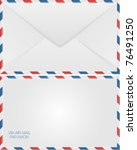 Air Mail Envelope Design  Back...