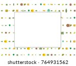 abstract background on a theme... | Shutterstock .eps vector #764931562